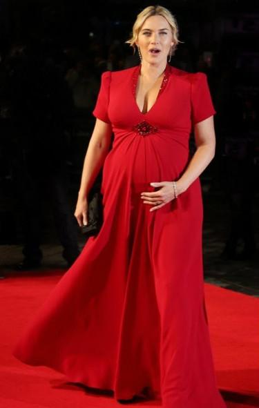 Kate Winslet ya tiene su regalo de navidad adelantado: un niño
