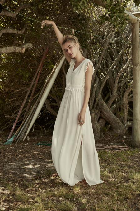 Woman Press Fashion 08 White Dress 066