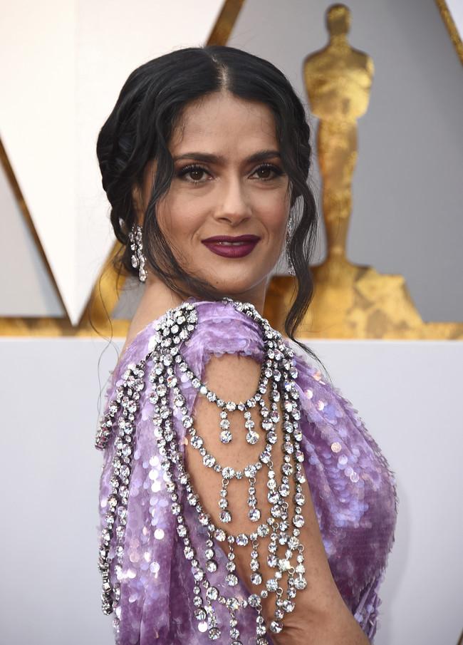Oscars 2018 Salma Hayek