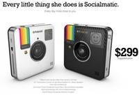Socialmatic, la cámara estilo Instagram de Polaroid, se lanzará en el primer trimestre de 2014 a unos 300 dólares