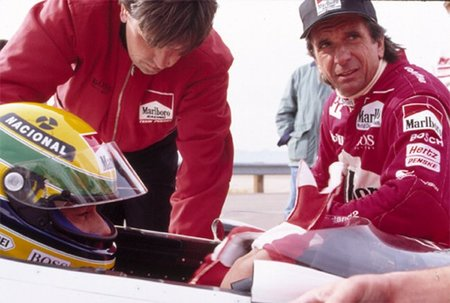 Cuando Ayrton Senna probó en la CART