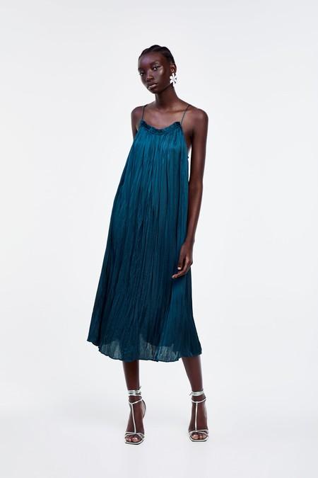 Vestidos Arrugados Zara 4