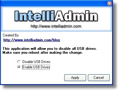 Deshabilitar los discos duros USB en Windows XP