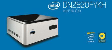 Intel NUC DN2820FYKH, el nuevo y económico mini PC de Intel