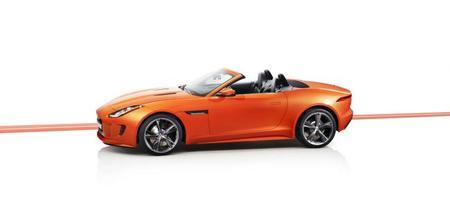 Jaguar F-Type naranja
