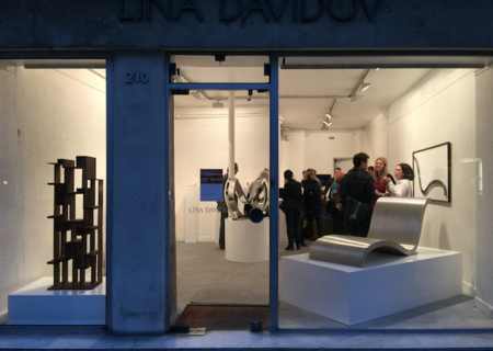 Arte habitable en la exposición de Fernando Aggaro en París