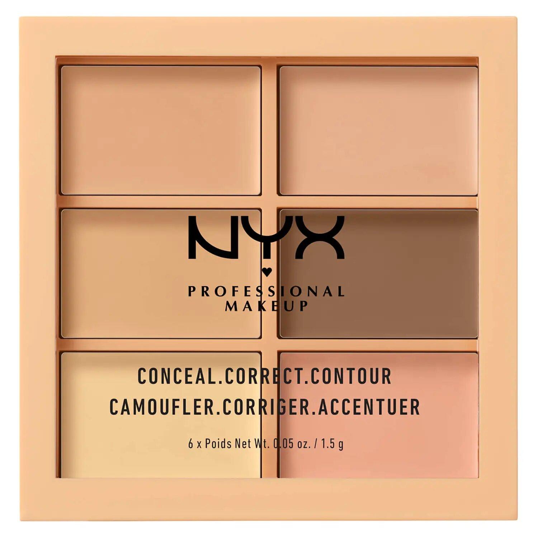 NYX Professional Makeup Paleta de correctores y contouring Conceal