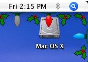 Navidad en tu Mac OS X