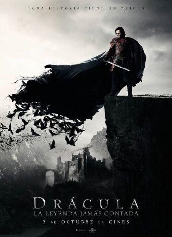 'Drácula: La leyenda jamás contada', cartel de la nueva versión con Luke Evans