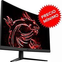 Más barato que nunca, El Corte Inglés te deja el monitor gaming curvo MSI Optix G27CQ4 por 319 euros con 100 de rebaja