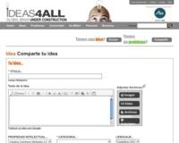 Ideas4all, comunidad de ideas y de soluciones a problemas planteados