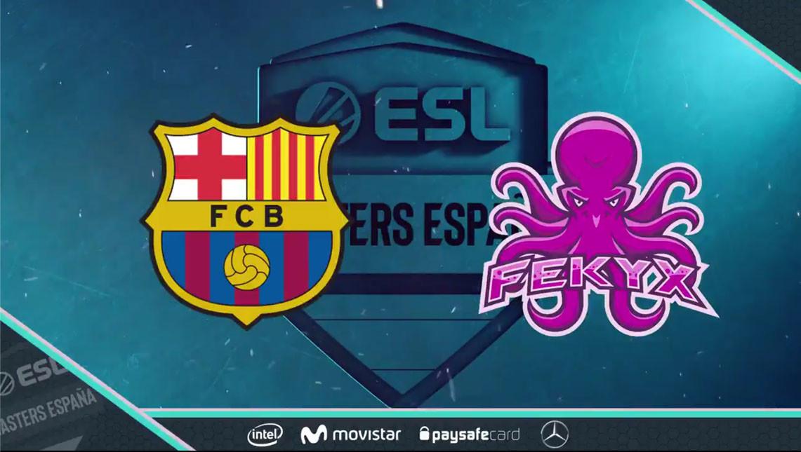 El FC Barcelona competirá en ESL Masters Rocket League