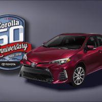 ¡El auto más vendido de la historia está de fiesta! Toyota celebra los 50 años del Corolla