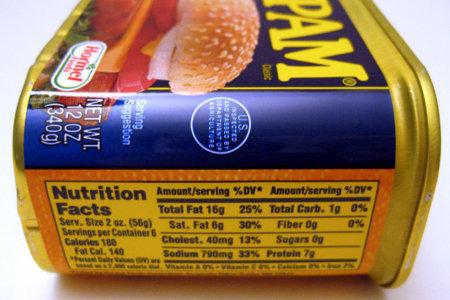 Las etiquetas, ¿muestran realmente las calorías de los alimentos?
