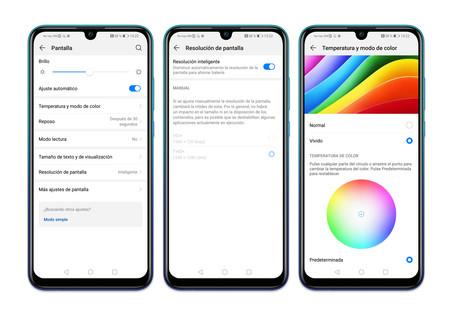 Huawei P Smart 2019 Ajustes Pantalla