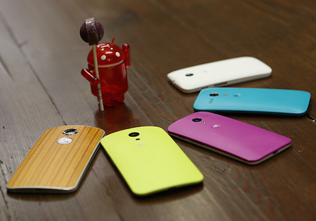 Android 5.0 Lollipop para todos los teléfonos 2013 y 2014 de Motorola está más cerca de lo que parece