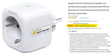 Enchufe Homekit Koogeek