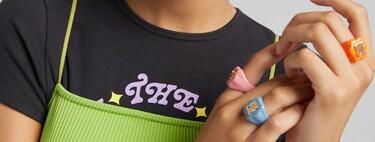 Dos manicuras coloridas y refrescantes perfectas para el verano de la mano de H&M y Bershka (y con accesorios incluidos)