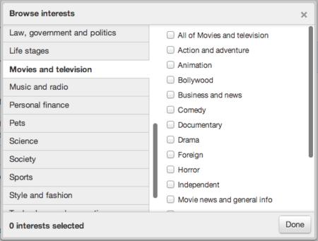 Twitter introduce la publicidad dirigida por intereses para ofrecer mejores resultados a los anunciantes