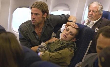 Zombis en el avión de