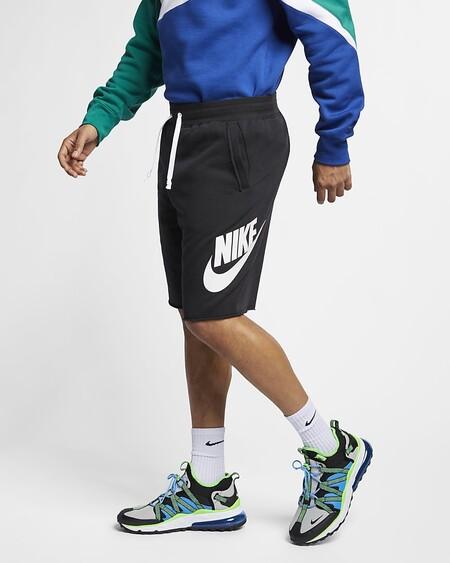 Sportswear Alumni Pantalon Corto De Tejido French Terry Kxp7k5