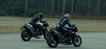 La Triumph Speed Triple RS más hooligan sigue calentando el ambiente antes de desvelarse el próximo lunes