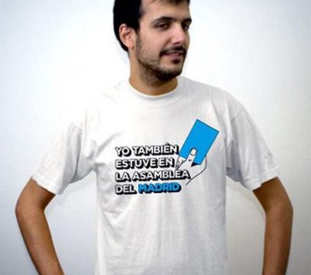 Camiseta 'Yo también estuve en la Asamblea del Madrid' de Shirtcity