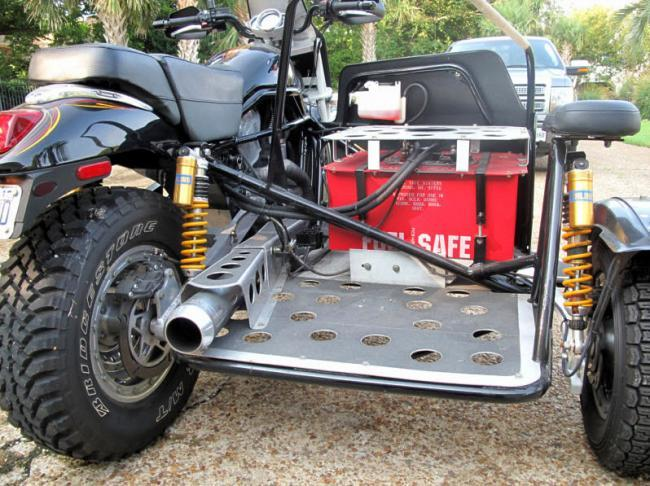Harley Davidson Vrod sidecar
