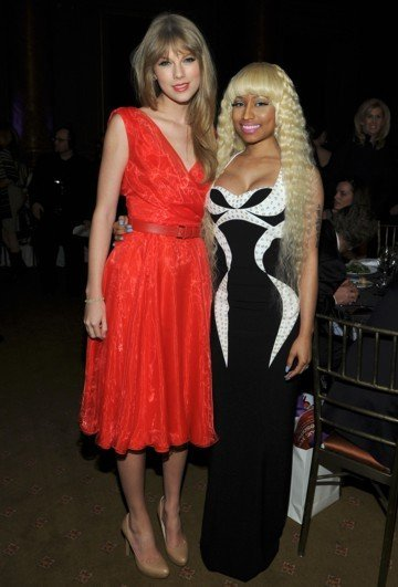 Nicki Minaj y Taylor Swift