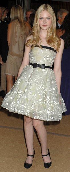 Elle Fanning vestido