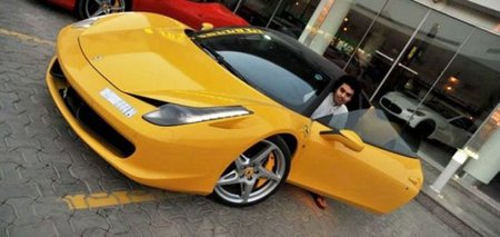 Dhiaa Al-Essa, un joven con suerte y 3,5 millones de libras en coches