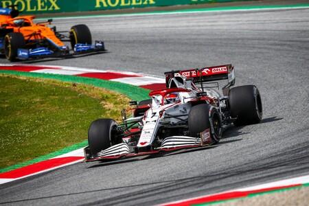 Raikkonen Austria F1 2021
