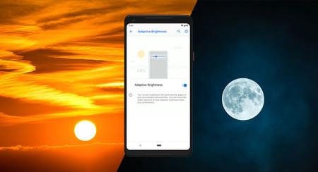 Así funciona el brillo de pantalla adaptativo de Android Pie