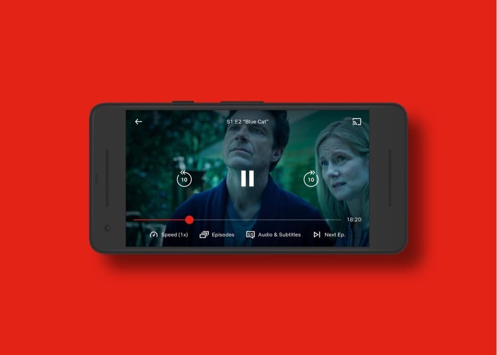 Netflix despliega para todos los usuarios controles para cambiar la velocidad de reproducción y ver series a 1,5x