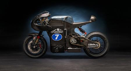 Saroléa SP7: Una moto eléctrica de carreras fabricada con fibra de carbono