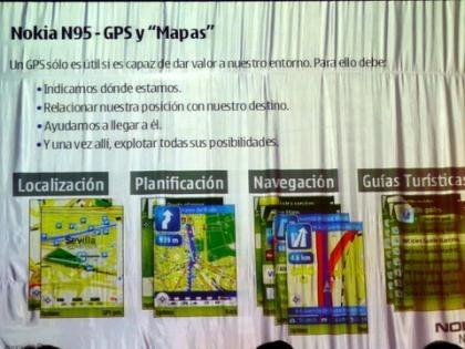 Diagrama GPS del N95