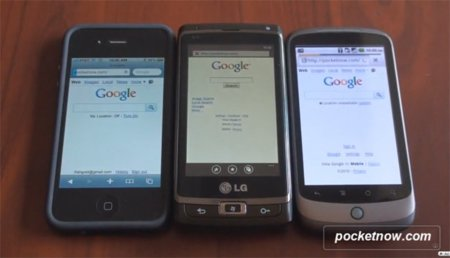 El navegador web de Windows Phone 7 apunta maneras