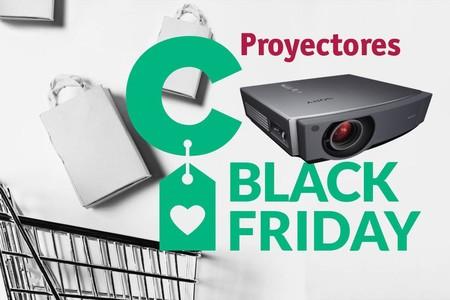 Las mejores ofertas del Black Friday 2018 de Amazon en proyectores LG, Epson y Optoma
