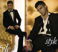 Maxi Iglesias pura elegancia en Shangay Style