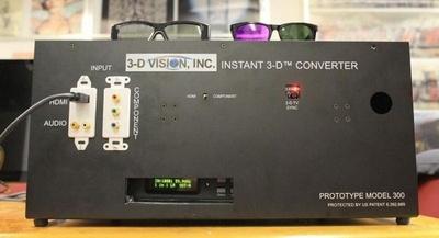 3-D Vision, la caja mágica que convierte nuestras teles  2D en flamantes equipos 3D