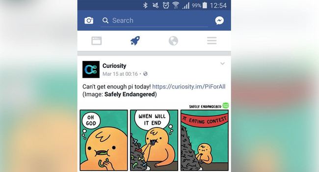 Ayuda, mi Facebook tiene un icono de un cohete
