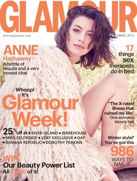 Glamour Reino Unido: Anne Hathaway