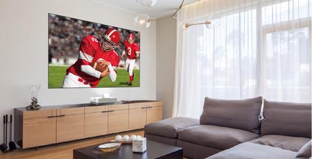 Epson anuncia su Laser Projection TV, un sistema 4K con pantalla de hasta 120 pulgadas con rechazo de luz ambiental
