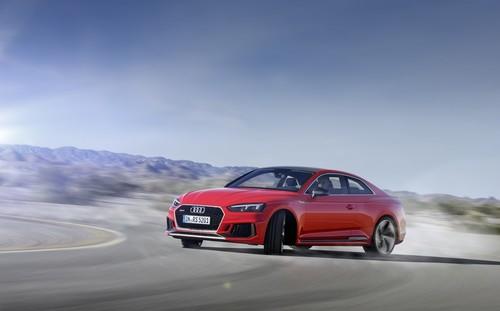El nuevo Audi RS5 pinta su raya al BMW M4 con un V6 biturbo y 450 hp