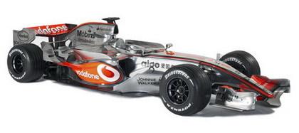 Nuevas aletillas en el McLaren MP4-22