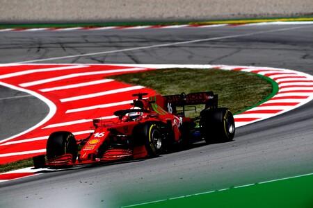 Leclerc Espana F1 2021