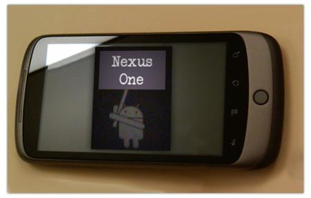 Nexus One, galería de imágenes y más información