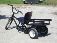 Vehículo con energía solar, casero y barato