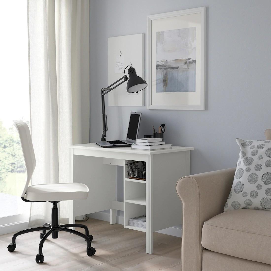 Cinco Escritorios De Ikea El Corte Inglés Y La Redoute Para Integrar Un Puesto De Trabajo En Casa De Manera Discreta