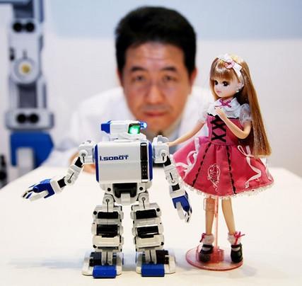 i-Sobot, robot con Wifi y cámara